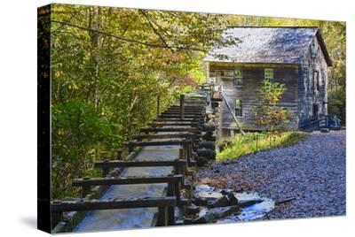 North Carolina, Great Smoky Mts, Mingus Mill, Water-Powered Grist Mill
