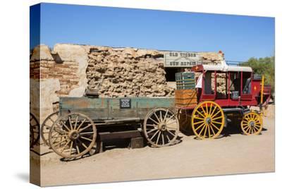 Old Wagons, Old Tucson Studios, Tucson, Arizona, USA