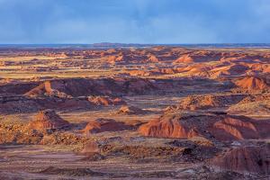 Painted Desert, Petrified Forest National Park, Arizona, USA by Jamie & Judy Wild