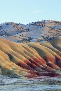 Painted Hills, John Day Fossil Beds National Monument, Oregon, USA by Jamie & Judy Wild