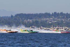SEAFAIR, Vintage Hydroplane Races, Lake Washington, Seattle, Washington, USA by Jamie & Judy Wild