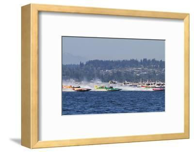 SEAFAIR, Vintage Hydroplane Races, Lake Washington, Seattle, Washington, USA