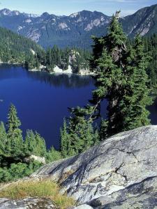 Snow Lake, Snoqualmie Pass, Alpine Lakes Wilderness, Washington, USA by Jamie & Judy Wild