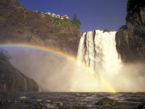 Spring Runoff at Snoqualmie Falls, Washington, USA by Jamie & Judy Wild
