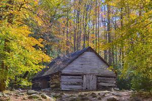 Tennessee, Great Smoky Mountains NP, Noah 'Bud' Ogle Farm by Jamie & Judy Wild