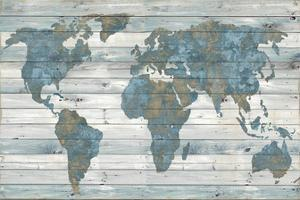 World maps posters and prints at art world on woodjamie macdowell gumiabroncs Choice Image
