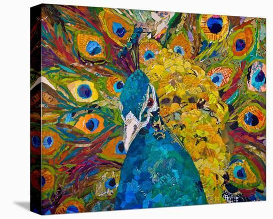 Jamis Peacock--Stretched Canvas Print