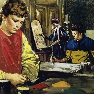 Jan and His Brother Herbert Van Eyck Began Life Apprenticed to a Local Painter-Luis Arcas Brauner-Giclee Print