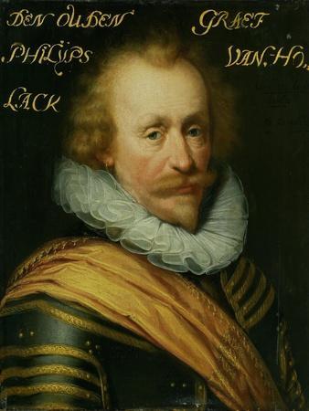 Portrait of Philips, Count of Hohenlohe Zu Langenburg