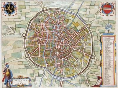 Lovanium, Map of Louvain