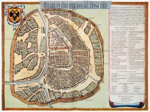Moscow: Map, 1662 by Jan Blaeu