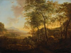 Wooded Hillside with a Vista, C.1645 by Jan Both