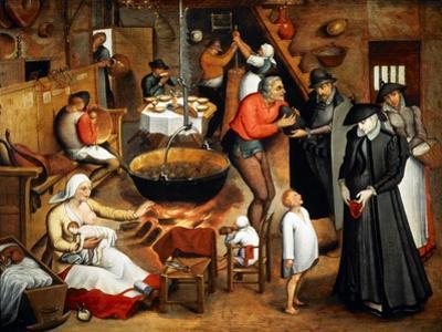 Interior of a Tavern by Jan Bruegel the Elder