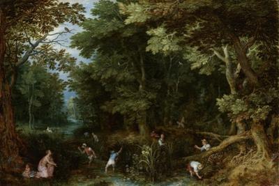 Latona and the Lycian Peasants by Jan Brueghel