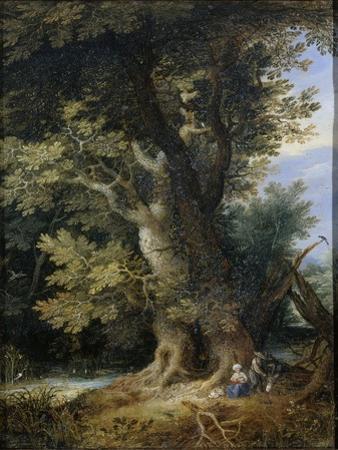 Rest on the Flight into Egypt by Jan Brueghel