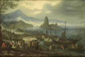 Sermon on the Sea of Galilee by Jan Brueghel