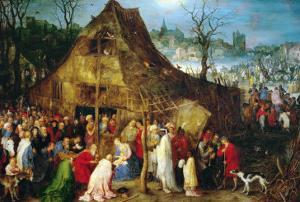 Adoration of the Magi, 1598 by Jan Brueghel the Elder