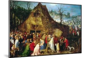 Adoration of the Magi, 1598 by Jan Brueghel the Elder