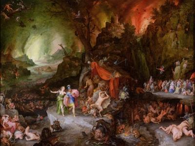 Aeneas and the Sibyl in the Underworld, 1598 by Jan Brueghel the Elder