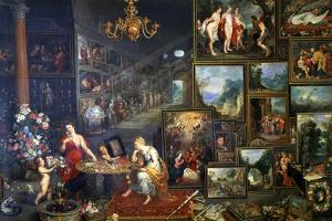 Allegory of Sight and Smell, C1590-1625 by Jan Brueghel the Elder