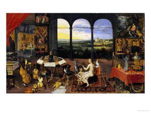 An Allegory of Hearing by Jan Brueghel the Elder