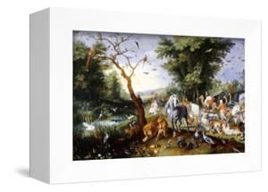Animals Entering Noah's Ark by Jan Brueghel the Elder