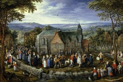 Country Wedding, 1621-1623 by Jan Brueghel the Elder