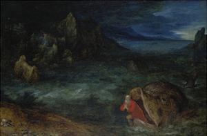 Jonah Leaves the Whale by Jan Brueghel the Elder