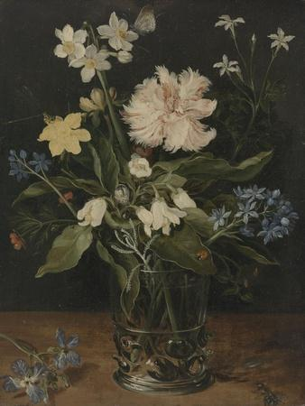 Still Life with Flowers in a Glass, 1630