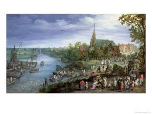 The Annual Parish Fair in Schelle, 1614 by Jan Brueghel the Elder