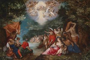 The Baptism of Christ by Jan Brueghel the Elder