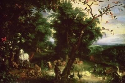 The Fall of Man by Jan Brueghel the Elder