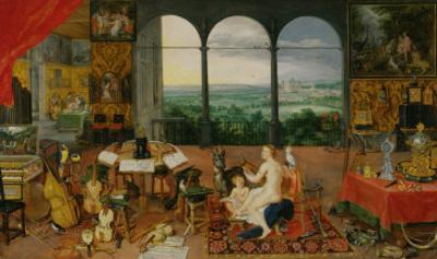 The Five Senses: Hearing by Jan Brueghel the Elder