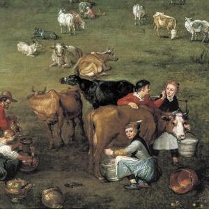 The Peasant Life (Detail) by Jan Brueghel the Elder