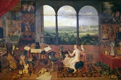 The Sense of Hearing, 1618 by Jan Brueghel the Elder