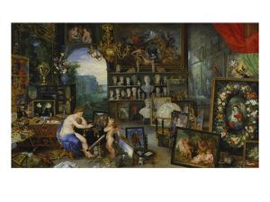 The Sense of Sight. (Executed with Peter Paul Rubens), 1617 by Jan Brueghel the Elder