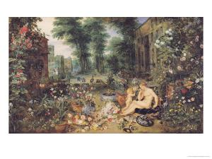 The Sense of Smell by Jan Brueghel the Elder