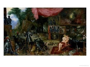 The Sense of Touch by Jan Brueghel the Elder