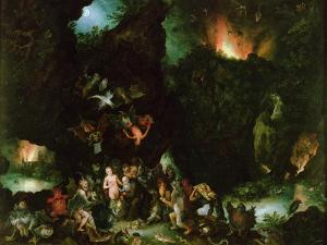 The Temptation of St. Anthony - Hell, 1594 by Jan Brueghel the Elder