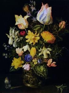 Vase of Flowers by Jan Brueghel the Elder