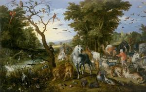 The Entry of the Animals into Noah's Ark by Jan Brueghel