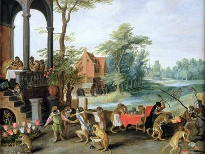 A Satire of the Folly of Tulip Mania