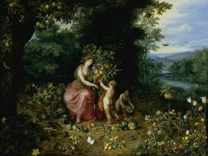 Allegory of Abundance by Jan Brueghel the Younger