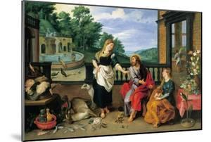 Christ in the House of Martha and Mary by Jan Brueghel the Younger