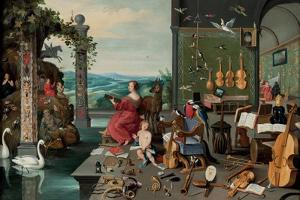 The Allegory of Hearing by Jan Brueghel the Younger