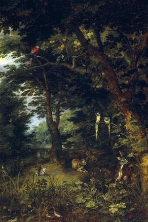 The Earthly Paradise, Ca. 1620, Flemish School