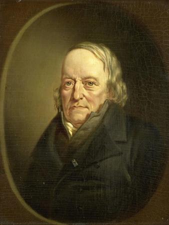 Portrait of Johannes Kinker, Poet and Philosopher, Professor at Liege