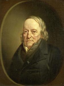 Portrait of Johannes Kinker, Poet and Philosopher, Professor at Liege by Jan Cornelis van Rossum
