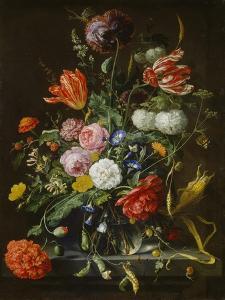 Blumenstück. Nach 1655 by Jan Davidsz de Heem