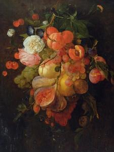 Fruit and Flowers by Jan Davidsz^ de Heem